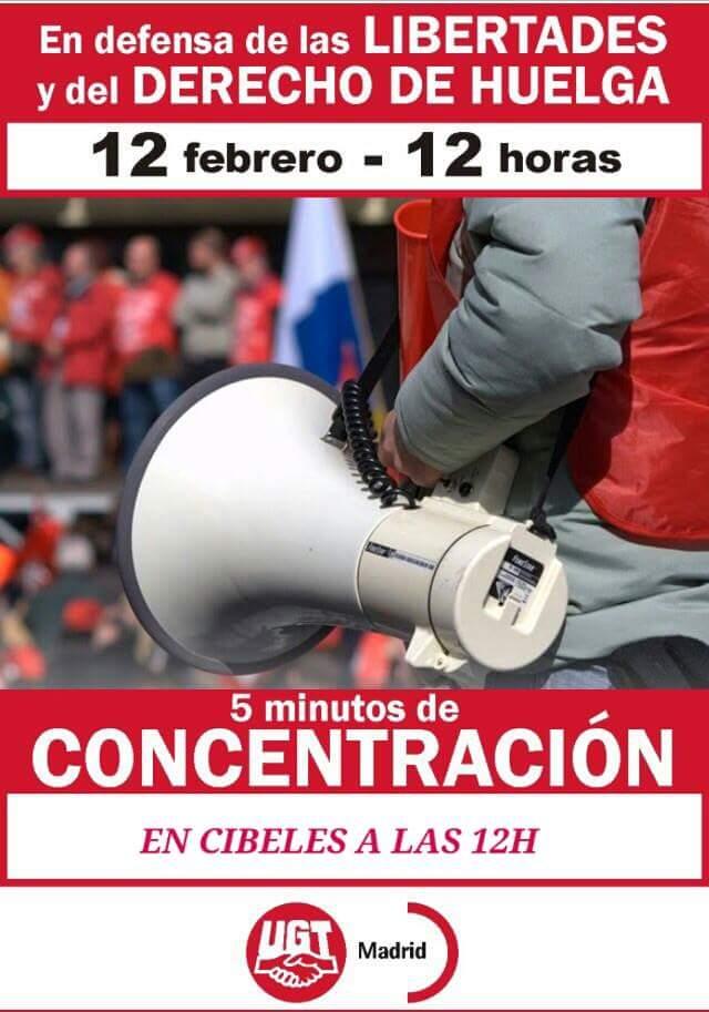Concentración 12/2/2015 Cibeles