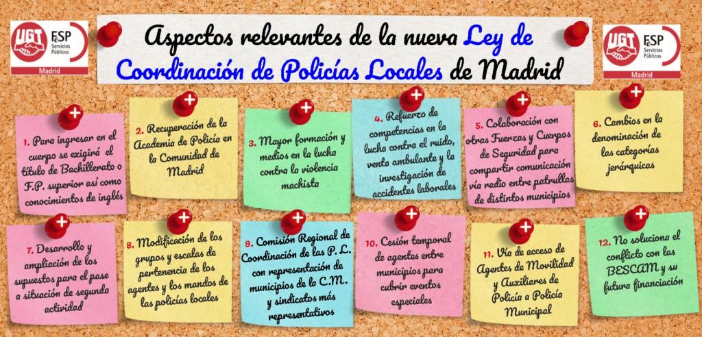 Claves nueva LCPL Madrid