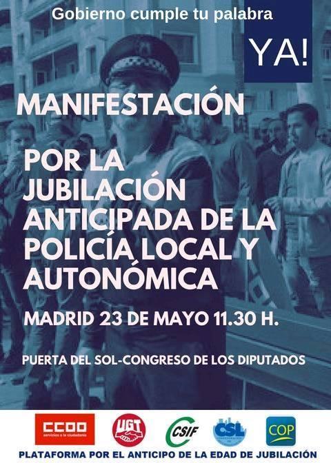 ¡¡Jubilación Ya!! 23- MAYO MANIFESTACIÓN¡¡Jubilación Ya!! 23- MAYO MANIFESTACIÓN