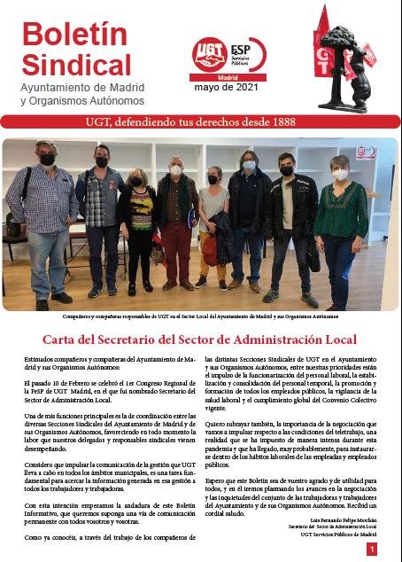 Boletín Ayto Madrid y OOAA